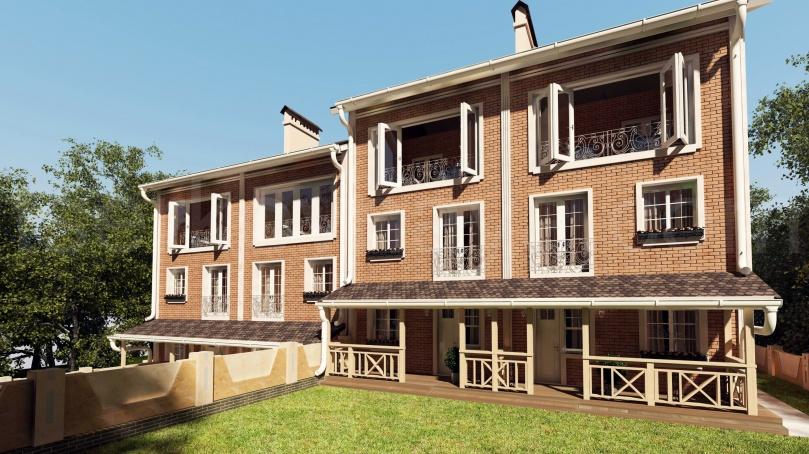 Жилой дом в г.Николаев (утвержденный вариант)