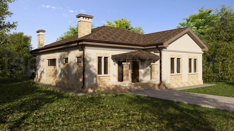 Индивидуальный жилой дом общей площадью 160 кв. м в г.Харьков