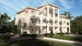 Реконструкция Базы отдыха в Средиземноморском стиле г.Очаков
