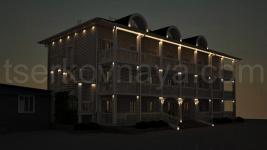 Архитектурная подсветка корпуса
