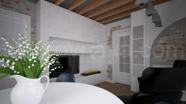 Внутри маленького домика