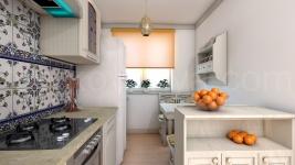 Дизайн маленькой квартиры с намеком на Прованс